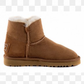 Chestnut - Snow Boot Suede Shoe Walking PNG