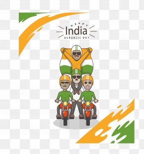 India A Triassic Rohan Ride - Indian Independence Day Delhi Republic Day Parade Wish PNG