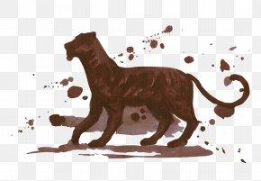 Hand Painted Dog - Lion Dog Tiger Pet PNG