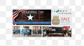 Memorial Day Sale - Display Advertising La-Z-Boy Sales United States PNG