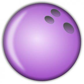 Pink Bowling Cliparts - Bowling Ball Clip Art PNG