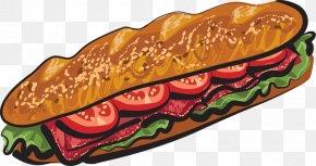 Sub Cliparts - Submarine Sandwich Delicatessen Subway Clip Art PNG