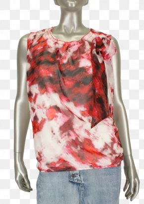 T-shirt - T-shirt Blouse Sleeveless Shirt Shoulder PNG