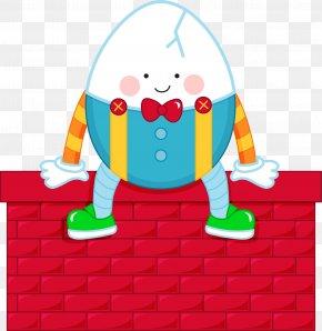 Humpty Dumpty Cliparts - Humpty Dumpty Mother Goose Nursery Rhyme Clip Art PNG