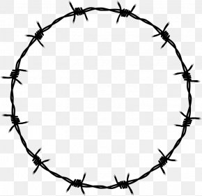 Barbwire - Barbed Wire Clip Art PNG