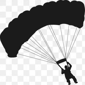Parachute - Flight Paragliding PNG