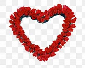 HEART FLOWER - Picture Frames Rose Heart Clip Art PNG
