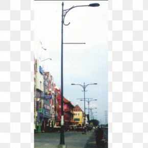 Street Light - Street Light Utility Pole Pt. Indalux Lamp PNG
