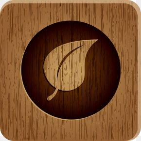 Brown Leaves Of Wood - Wood Icon PNG