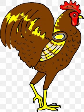 Picture Of A Rooster - Chicken Rooster Clip Art PNG