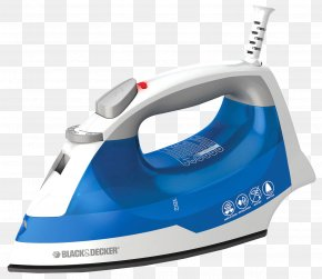 Iron - Clothes Iron Black & Decker Clothes Steamer Ironing PNG