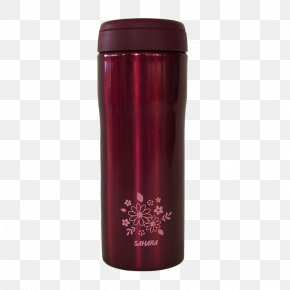 Big Red Stainless Steel Mug - Cup Vacuum Flask Stainless Steel Red PNG
