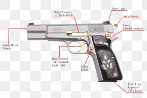 Weapon - TİSAŞ Pistol Zigana Weapon Firearm PNG