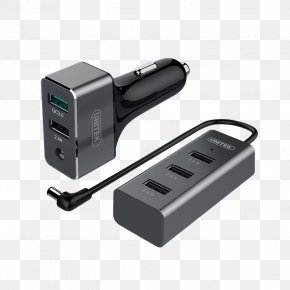 Usb Charger - Battery Charger AC Adapter Quick Charge USB-C PNG