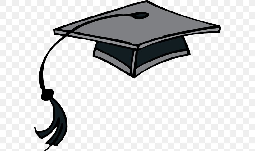 Square Academic Cap Graduation Ceremony Hat Clip Art, PNG, 600x486px, Square Academic Cap, Black, Black And White, Blog, Brand Download Free