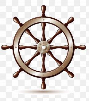 Nautical Themes - Ship's Wheel Boat Clip Art PNG