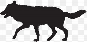 Wolf Silhouette Clip Art Image - Gray Wolf Silhouette Clip Art PNG
