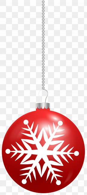 Christmas Ball With Snowflake Clip Art Image - Volvo Trucks Snowflake Clip Art PNG