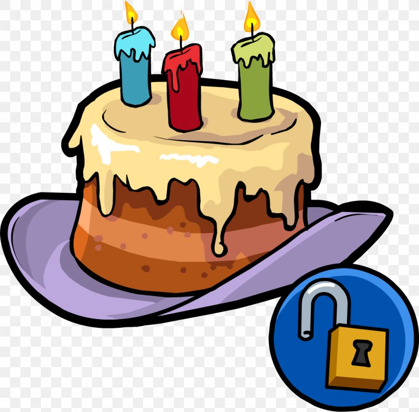 Stupendous Club Penguin Birthday Cake Party Hat Png 1111X1096Px Club Funny Birthday Cards Online Aeocydamsfinfo