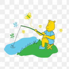 Fishing - Illustration Clip Art Cartoon Adobe Photoshop PNG