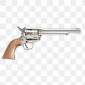 Bounty Hunter - Remington Model 1858 Colt Single Action Army A. Uberti, Srl. Revolver .44 Magnum PNG