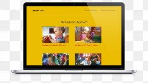 Musik - Display Device Display Advertising Media Television PNG