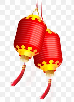 Chinese New Year - Chinese New Year Lantern Festival China Paper Lantern PNG