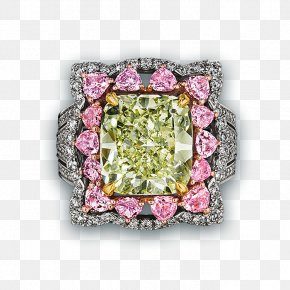Green Diamond - Earring Jewellery Diamond Engagement Ring PNG