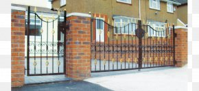 Wrought Iron Gate - Fence Electric Gates Wrought Iron Door PNG