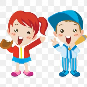 Kids Playing - Child Cartoon Laughter PNG