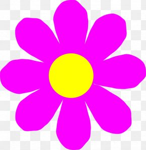 Free Flower Clipart - Pink Flowers Free Clip Art PNG