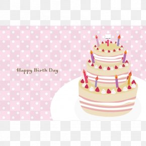 Birthday Cake Greeting Card - Torte Birthday Cake Cake Decorating PNG