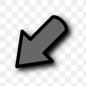 Left Arrow - Arrow Down PNG