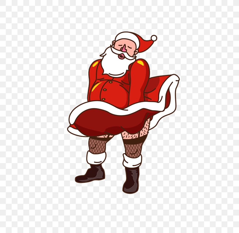 Santa Claus Cartoon Christmas