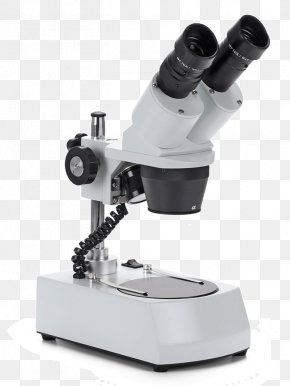 Microscope - Stereo Microscope Optics Light Objective PNG