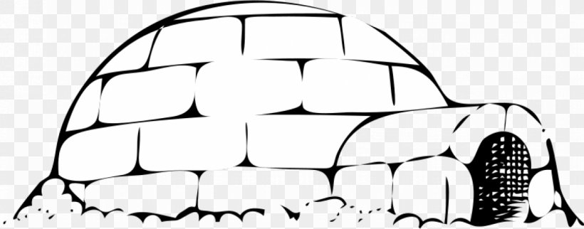 Igloo Euclidean Vector Clip Art, PNG, 1273x500px, Igloo, Area, Black, Black And White, Brand Download Free