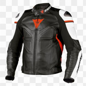 Jacket - Leather Jacket Dainese Motorcycle PNG