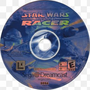 Star Wars - Star Wars Episode I: Racer Compact Disc Dreamcast Star Wars Computer And Video Games PNG