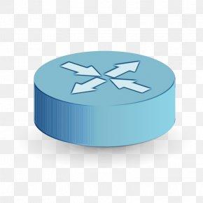 Metal Electric Blue - Blue Aqua Turquoise Teal Ribbon PNG