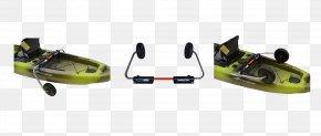 Red Thread - Landing Gear Kayak Fishing Wheel PNG