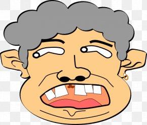 Crazy Face Cliparts - Person Clip Art PNG