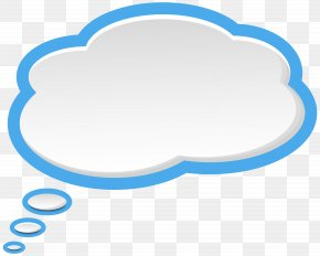 Bubble Speech Sky Blue White Clip Art Image - Image File Formats Lossless Compression Raster Graphics PNG