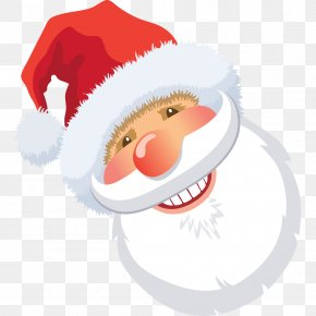 Lovely Santa Claus - Santa Claus Christmas Decoration Gift Illustration PNG