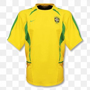 Retro Jerseys - Brazil National Football Team 2014 FIFA World Cup T-shirt Jersey Clothing PNG