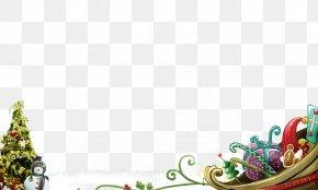 Christmas Posters - Santa Claus Christmas Tree New Year Beautiful Christmas PNG