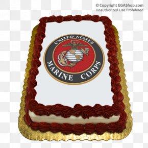 United States - Cake Decorating United States Marine Corps Birthday Cake PNG