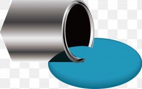 Paint Bucket - Paint Barrel Bucket Brush PNG