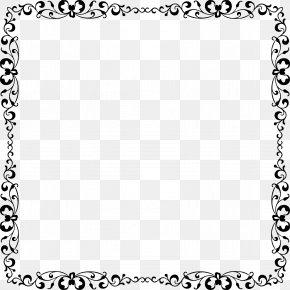 Elegant Frame Cliparts - Picture Frame Clip Art PNG
