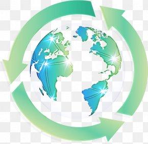 Planet Interior Design - Globe Green World Earth Logo PNG