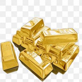 3D Gold - Gold As An Investment Money Gold Bar Bullion PNG